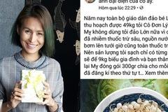Tung tin tỏi Lý Sơn nhiễm thuốc sâu, Facebooker Lương Hoàng Anh bị mời làm việc