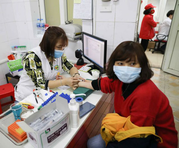 Blood banks in Vietnam getting restocked after the critical shortage