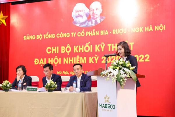 Habeco tổ chức đại hội Đảng các cấp tiến tới Đại hội đại biểu lần thứ IV