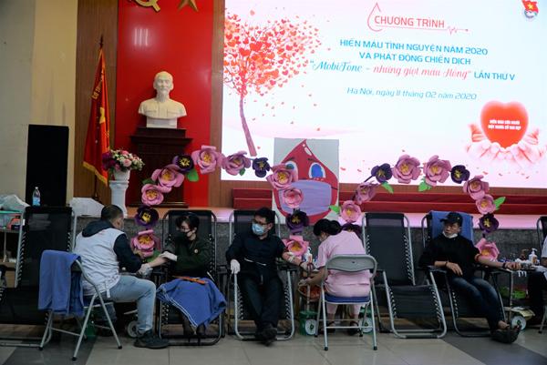 Mở đợt cao điểm vận động hiến máu Xuân hồng 2020