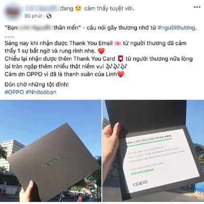 Oppo gửi ngàn lời cảm ơn đến thị trường Việt