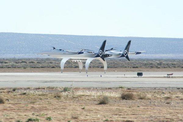 Xôn xao ảnh chụp máy bay 'kỳ quái' xuất hiện tại cảng vũ trụ Mỹ