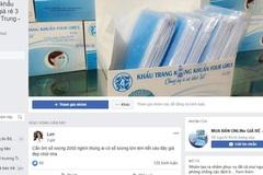 Khẩu trang kháng khuẩn bằng... giấy vệ sinh được bán giá 'cắt cổ' trên mạng