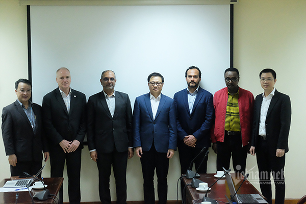 Việt Nam và ITU xây dựng chủ đề thảo luận cho Triển lãm Thế giới số