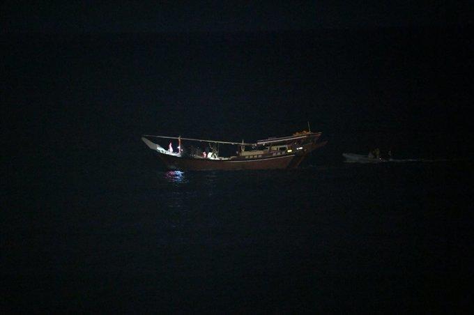 Hải quân Mỹ tịch thu mẻ vũ khí 'khủng' của Iran trên biển
