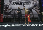 MMA fighter Tran Quang Loc has ONE goal