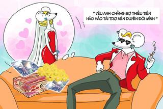 Cười ngất với ảnh 'quăng thính' mùa Valentine của Hảo Hảo