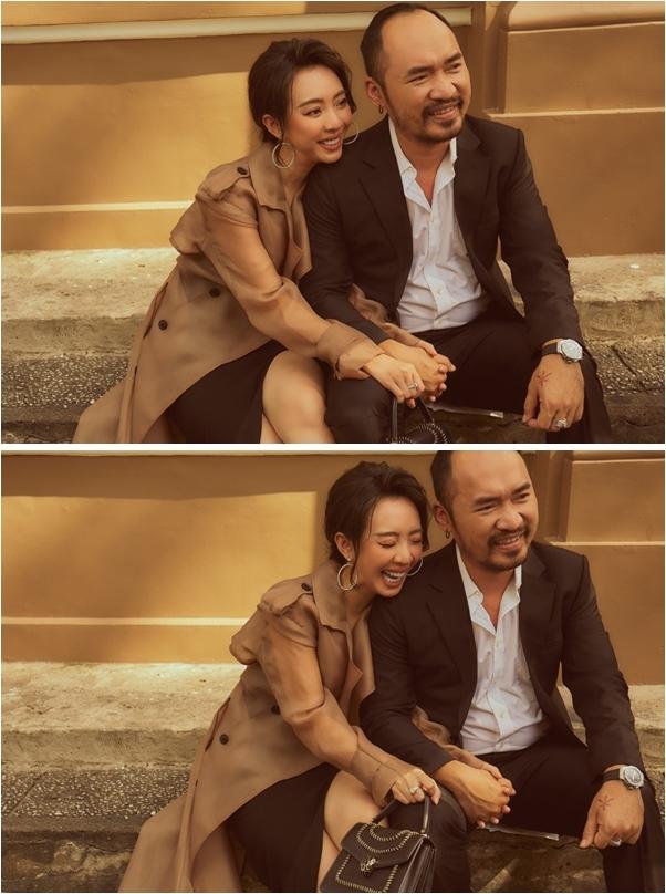 Thu Trang - Tiến Luật ngọt ngào đón Lễ tình nhân