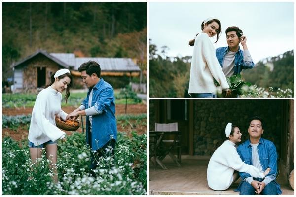Trường Giang, Nhã Phương 'trốn con' chụp ảnh Valentine bên nhau