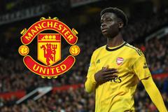 """MU """"đánh cắp"""" viên ngọc Bukayo Saka của Arsenal"""