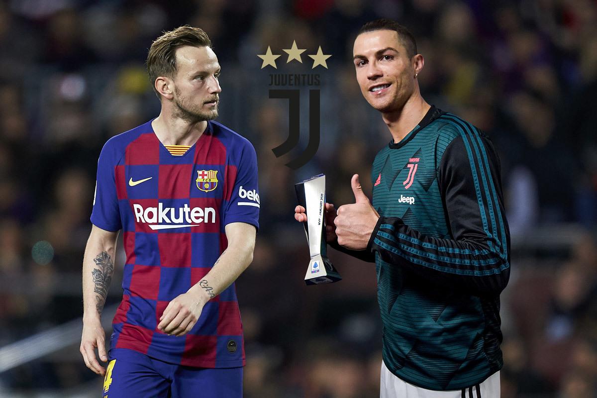 Rakitic 'thả thính' Juventus, muốn đá cạnh Ronaldo