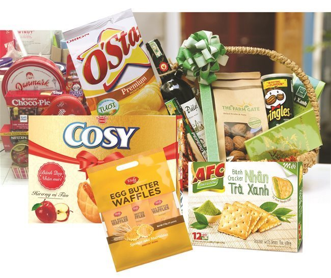 The competition in the drinks and snacks market