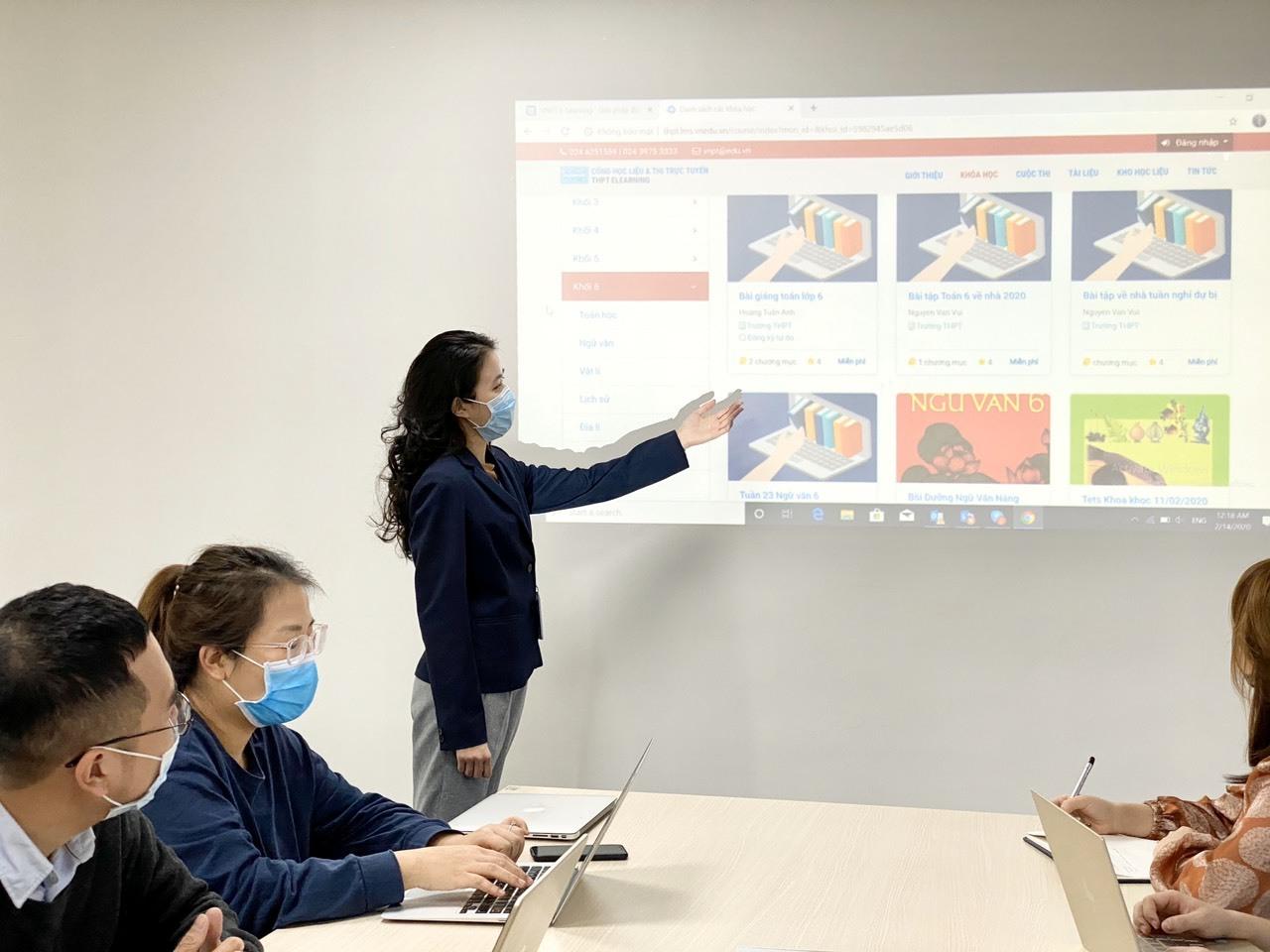 Giải pháp đào tạo trực tuyến của VNPT 'được lòng' giáo viên