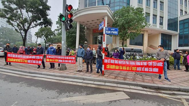 Người mua nhà 8B Lê Trực gửi đơn kiến nghị đến tân Bí thư Thành ủy Hà Nội