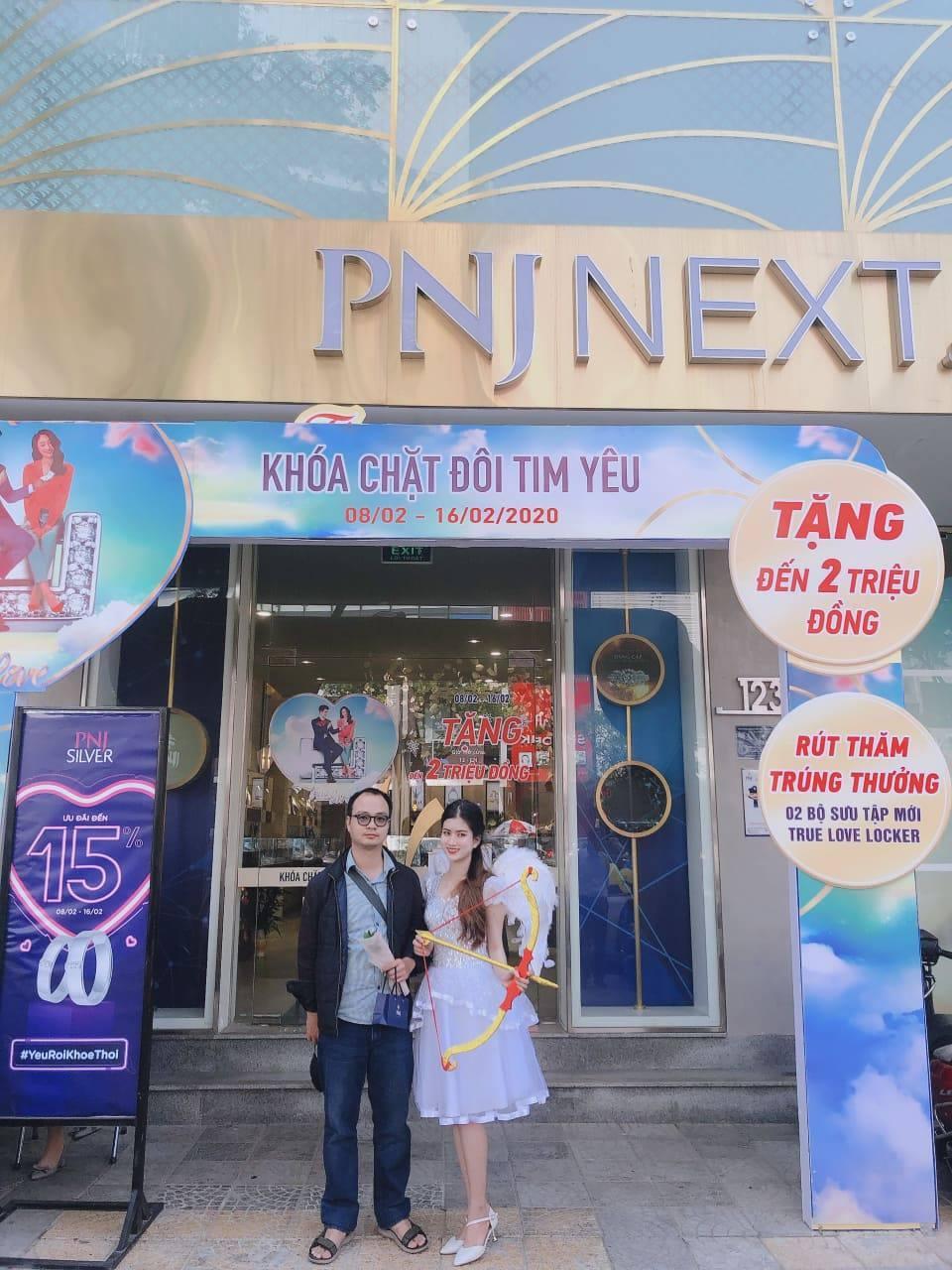 PNJ tạo sức hút với chiến dịch quà tặng từ 'thần Cupid'
