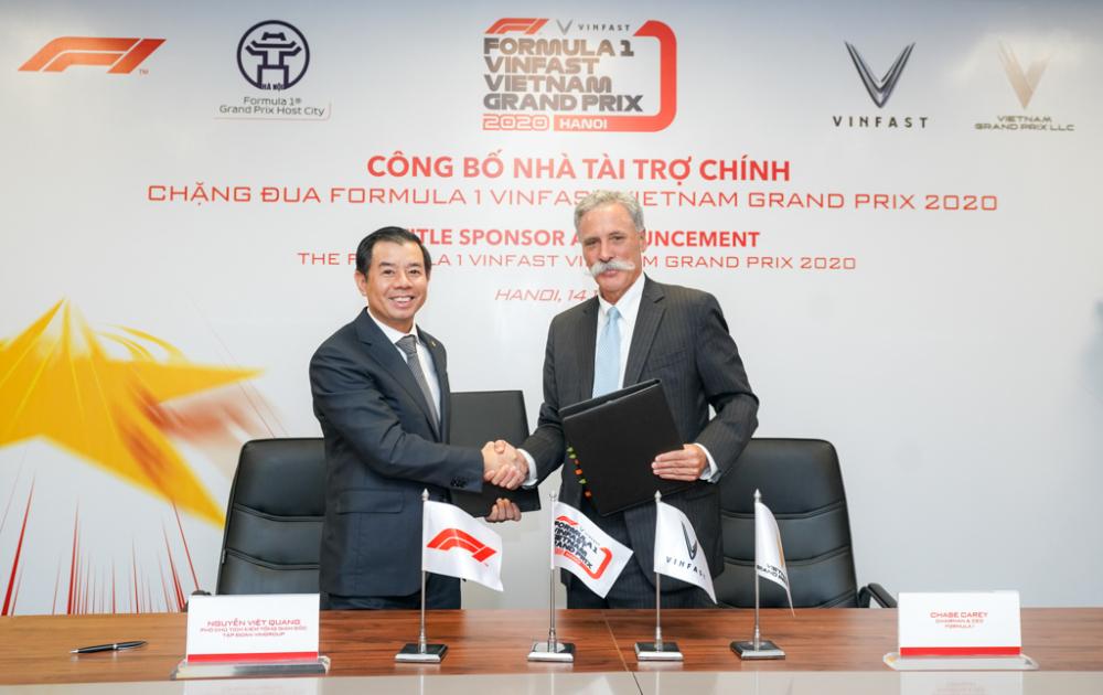 Tài trợ khủng cho F1 Việt Nam, các 'ông lớn' đang toan tính gì?