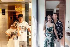 Đức Chinh, Văn Thanh khoe ảnh ngọt ngào bên bạn gái ngày Valentine