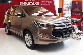 """Phân khúc MPV tháng 1: Toyota Innova """"tụt dốc không phanh"""""""
