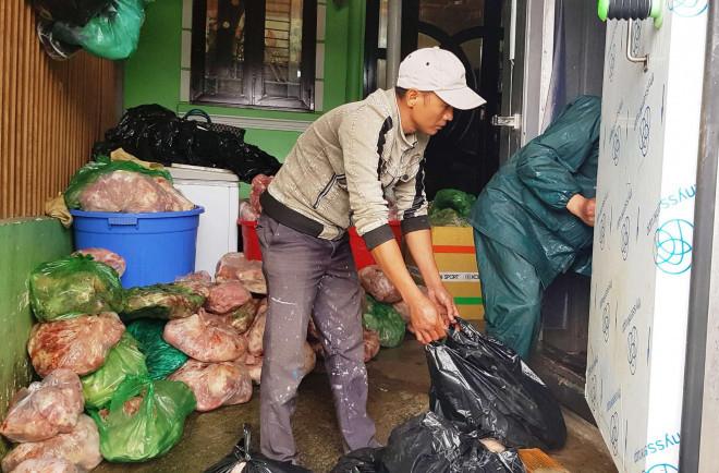 Phát hiện lượng lớn thịt heo thối tại 1 cơ sở kinh doanh ở Đà Lạt