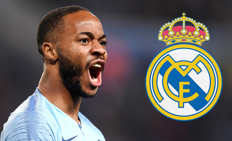 Real Madrid,Sterling,Man City
