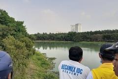 Ăn nhậu trong công viên ở Bình Dương, 2 thanh niên tử nạn dưới hồ