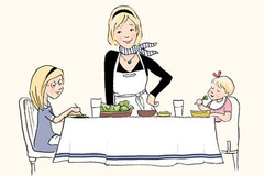 7 quy tắc dạy con ăn như người Pháp: Ai cũng muốn học theo