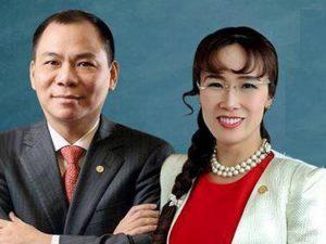 Các đại gia Việt rớt hạng trong danh sách tỷ phú USD
