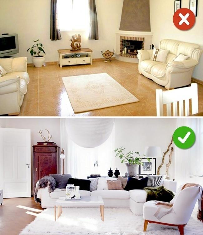Những lỗi thường gặp trong phòng nhỏ khiến không gian càng thêm chật chội hơn