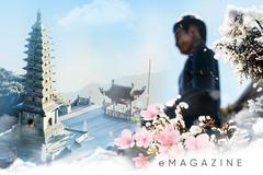 Du Xuân bái Phật trên miền mây trắng