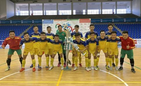 Vietnamese futsal team records resounding win over Malaga in Spain