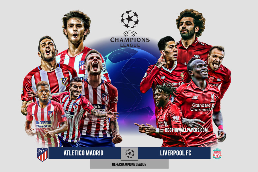 Soi kèo Atletico Madrid vs Liverpool, Champions League – 19/02/2020