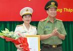 Thượng tá Võ Thị Hoài Ngọc làm Phó giám đốc Công an Đồng Tháp