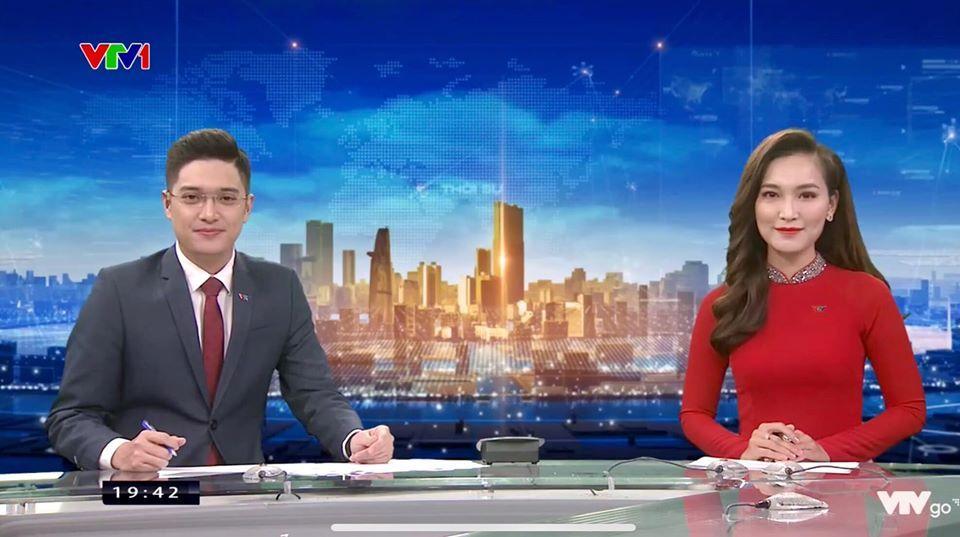 Bật mí về 'soái ca' trẻ nhất bản tin Thời sự 19h VTV