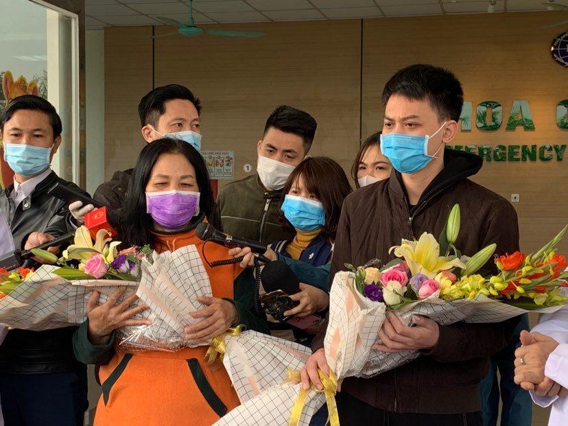 Hai bệnh nhân Covid-19 ở Vĩnh Phúc được xuất viện