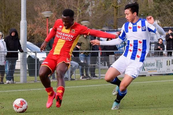 Văn Hậu Toả sáng, Heerenveen lọt top 3 giải Hà Lan
