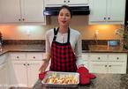 Phạm Hương lại gây tranh cãi khi khoe làm món cua