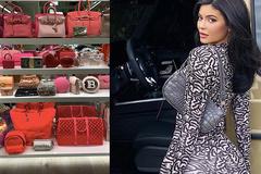 Kylie Jenner khoe 400 chiếc túi xách hàng hiệu