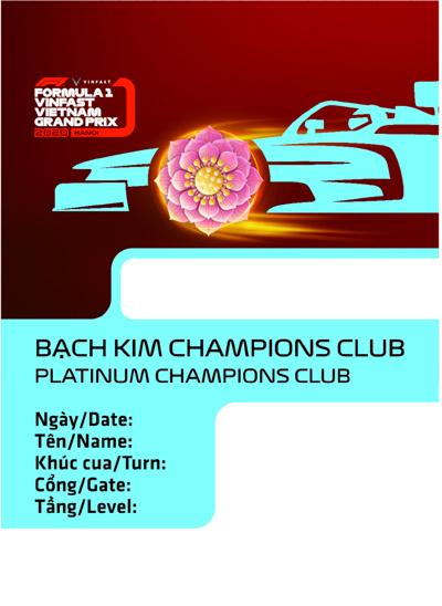 Thiết kế 'chất lừ' của vé xem F1 tại Việt Nam
