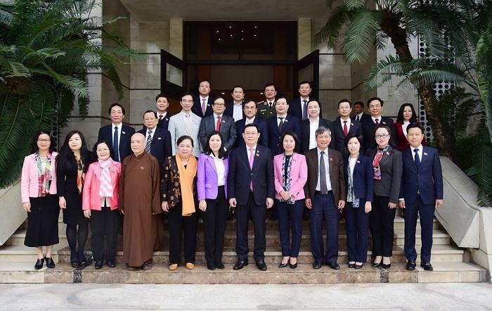 Vương Đình Huệ,Đại biểu quốc hội