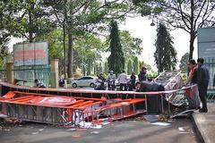 Sập cổng chào bảo tàng Đắk Lắk, lòi ra thiết kế gian dối