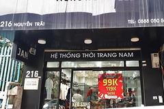 Hà Nội: CH Jan Store bị Cục QLTT xử phạt vì bán quần áo giả mạo nhãn hiệu
