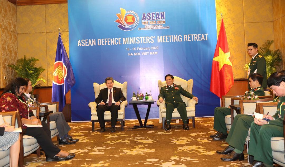 Hợp tác quốc phòng là trụ cột trong mối quan hệ Việt Nam-Campuchia