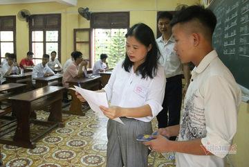 Vĩnh Phúc cho hơn 13.500 học sinh lớp 12 trở lại trường để ôn thi tốt nghiệp