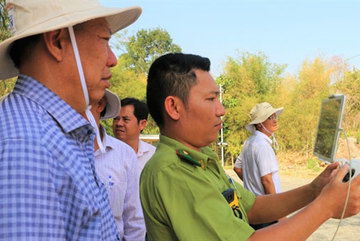 Hot weather brings high risk of forest fire in An Giang Province