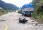 Va chạm với xe tải, 2 vợ chồng người Đức tử vong ở Quảng Nam
