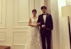 Vợ tài tử Lee Byung Hun bất ngờ đăng ảnh cưới cùng trai lạ