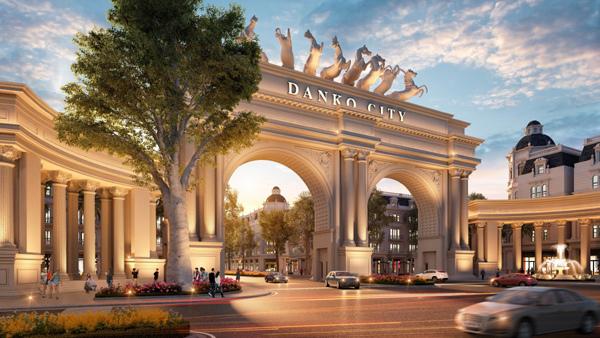 Danko City Thái Nguyên - biểu tượng kiến trúc mới ở TP. Thái Nguyên