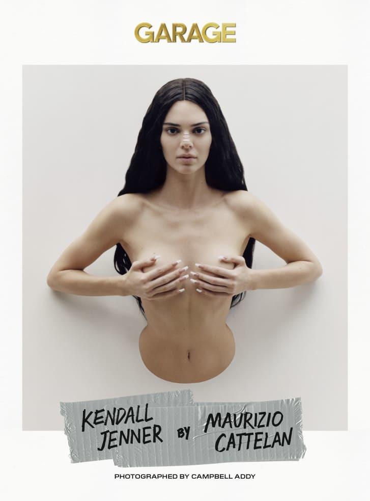 Lần hiếm hoi Kendall Jenner chụp nude mà không bị chê phản cảm
