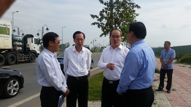 TP.HCM xin hướng dẫn việc thành lập thành phố phía Đông