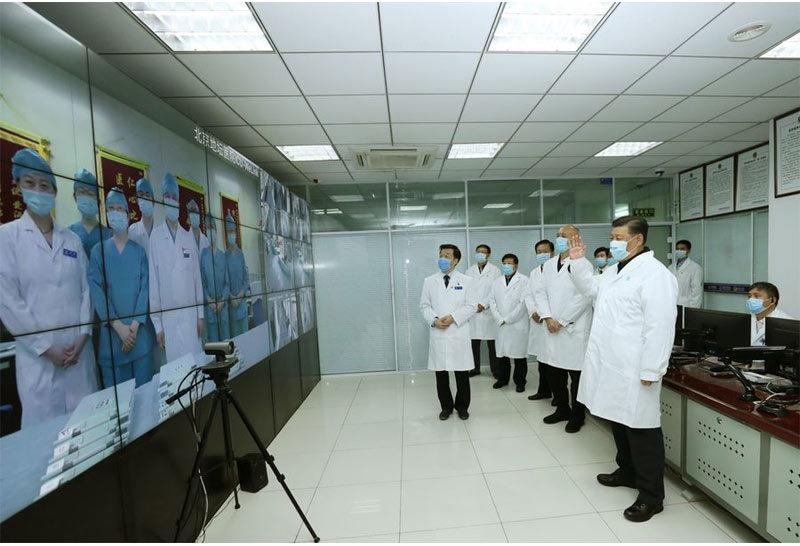 Mệnh lệnh của ông Tập Cận Bình khiến các y bác sĩ chống Covid-19 'vững tâm'
